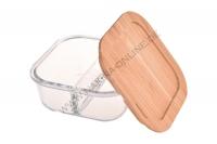 Quadratische Glasaufbewahrungsbox 740 ml