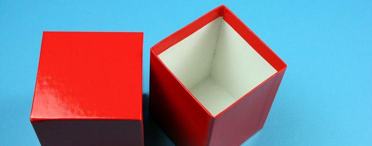 Kartonbox 7,6x7,6x10 cm