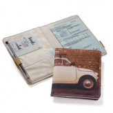 Aufbewahrung für Fahrzeugpapiere